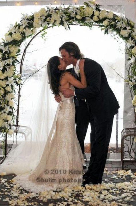 Genevieve Cortese Jared Padalecki Wedding Supernatural Sam Search Winchester Google Searching