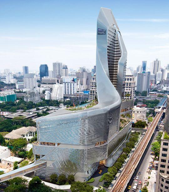 A Torre de Babel Asiática   Construção do Central Embassy em Banguecoque