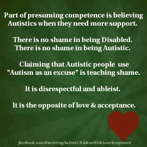 34 best Presume Competence images on Pinterest Autism, Asd and - difference between presume and assume