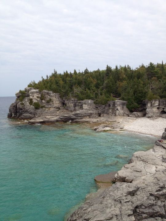 Bruce Peninsula National Park of Canada in Northern Bruce Peninsula, ON - The Grotto!