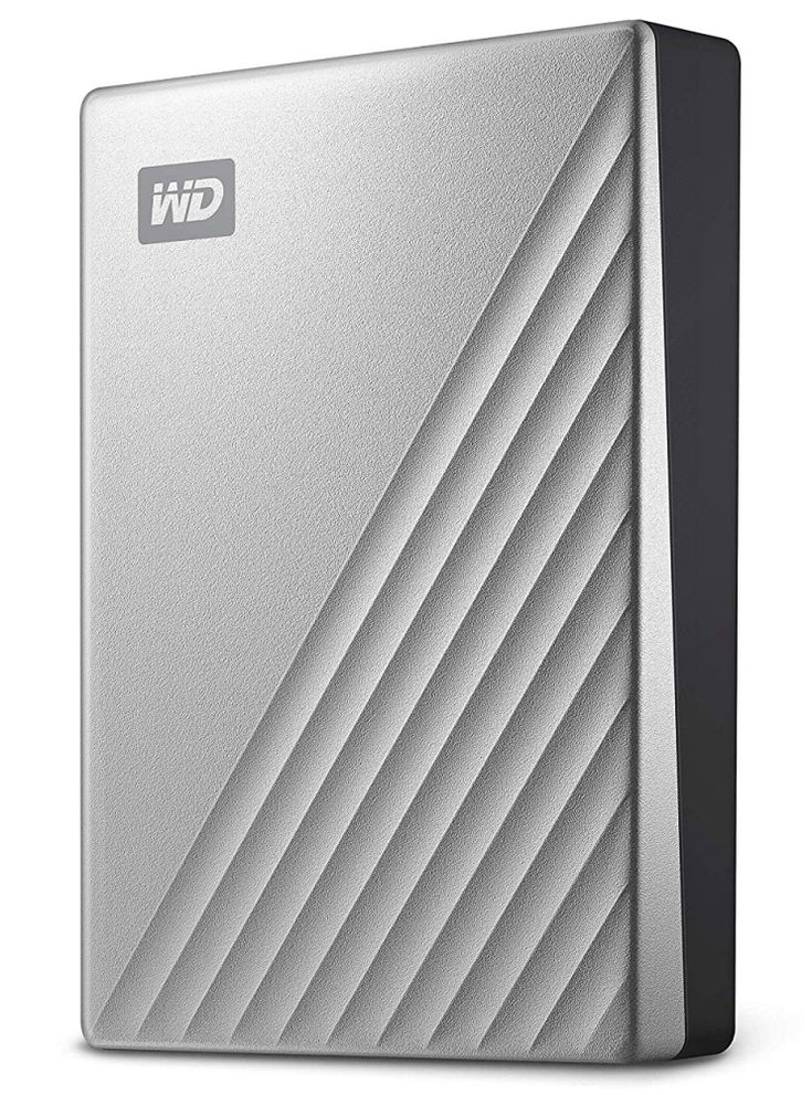 Wd 4tb My Passport Ultra For Mac Silver Portable External Hard Drive Portable External Hard Drive External Hard Drive Hard Drive