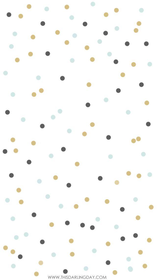 White navy mint confetti spots iphone phone background wallpaper lock screen