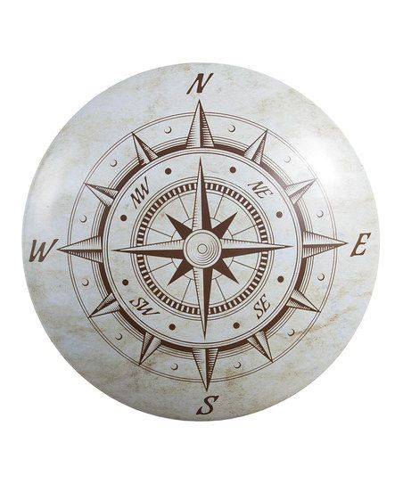 Ohio Wholesale, Inc. Nautical Compass Dome Sign | zulily