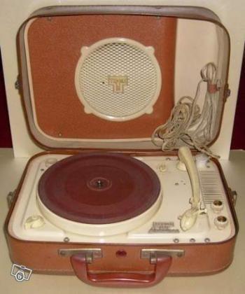Tourne disques Teppaz annees 1950