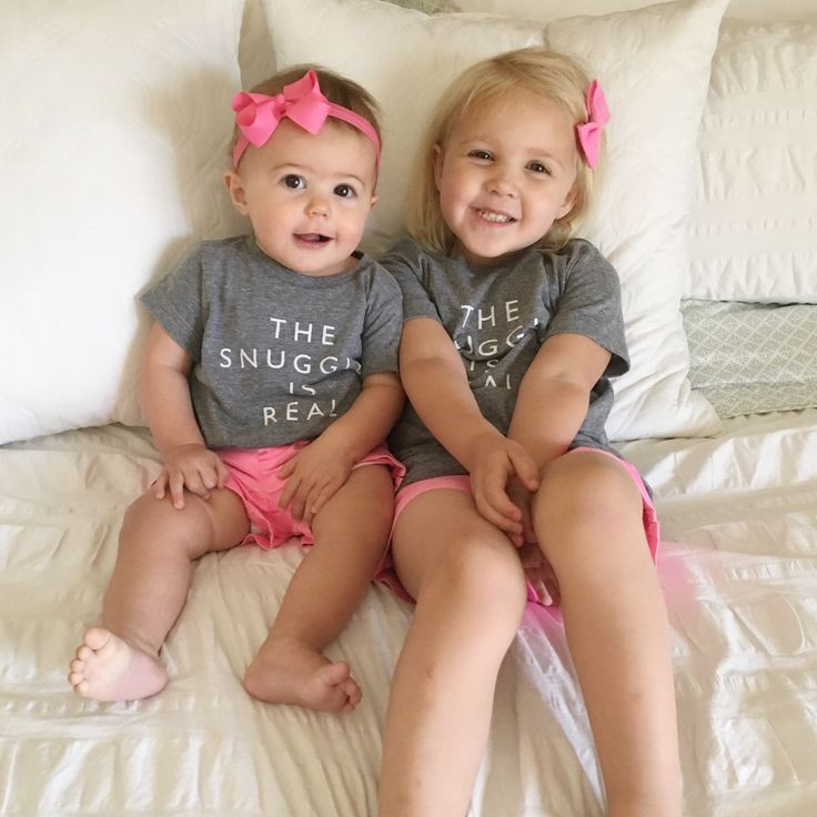 Cheerily, Toddler Outfits, Matching Sisters, The Snuggle is Real