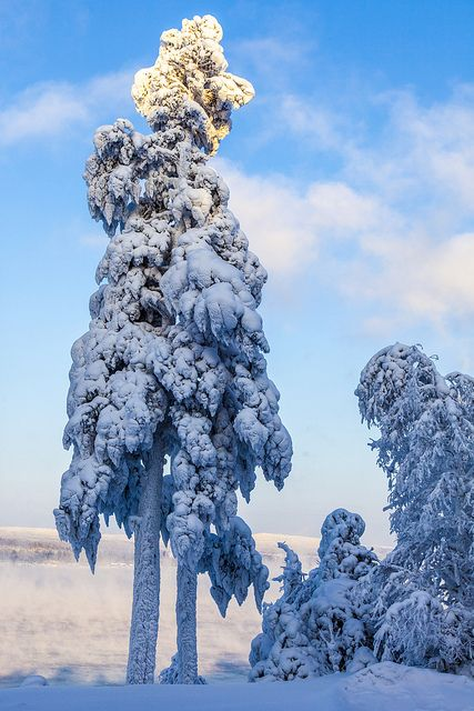 Winter fantasy, Angara river, Siberia, Russia