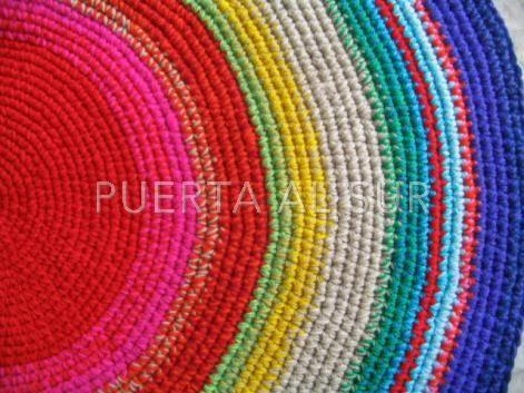 Tapiz con colores de los Chakras
