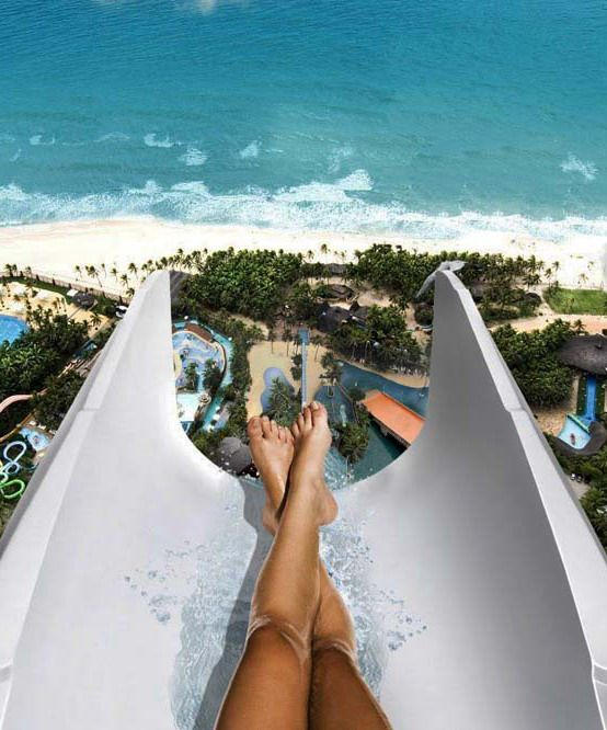 #Insano #Waterslide or #Beach_Park or #Water_Park is tallest of #water_slides in the world in #Aquiraz, #Brazil http://en.directrooms.com/hotels/subregion/8-91-6883/