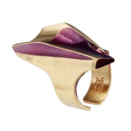 "Björn Weckström for Lapponia Jewelry ~""B-52"" Flame Bronze #Ring, 1972. | Bukowskis.com"