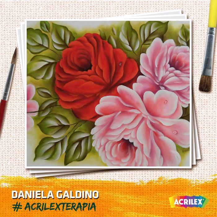 #Acrilexterapia por Daniela Galdino