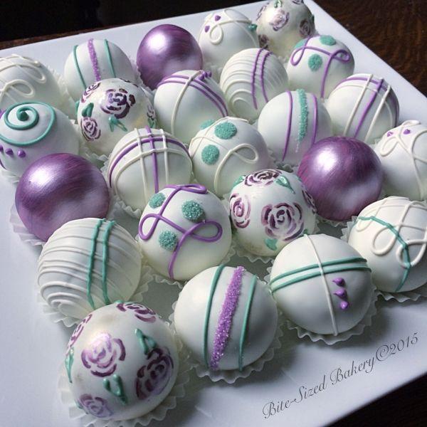 Floral Cake Balls