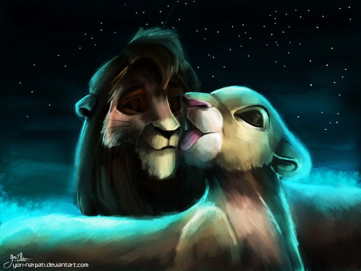 kiara and kovu -The Lion King 2 Simba's Pride