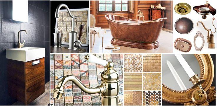 Decorate with golden metal! #golden