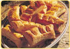 Recept voor Hanekammen met roomkaas en pistachenoten