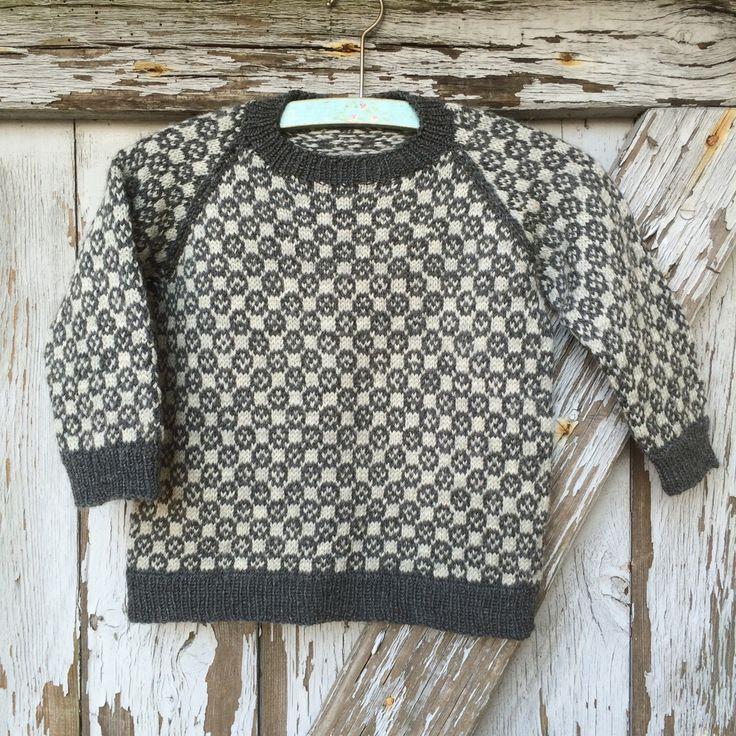 149 Louis sweater fra CaMaRose - Køb garn og opskrift til Louis sweater her