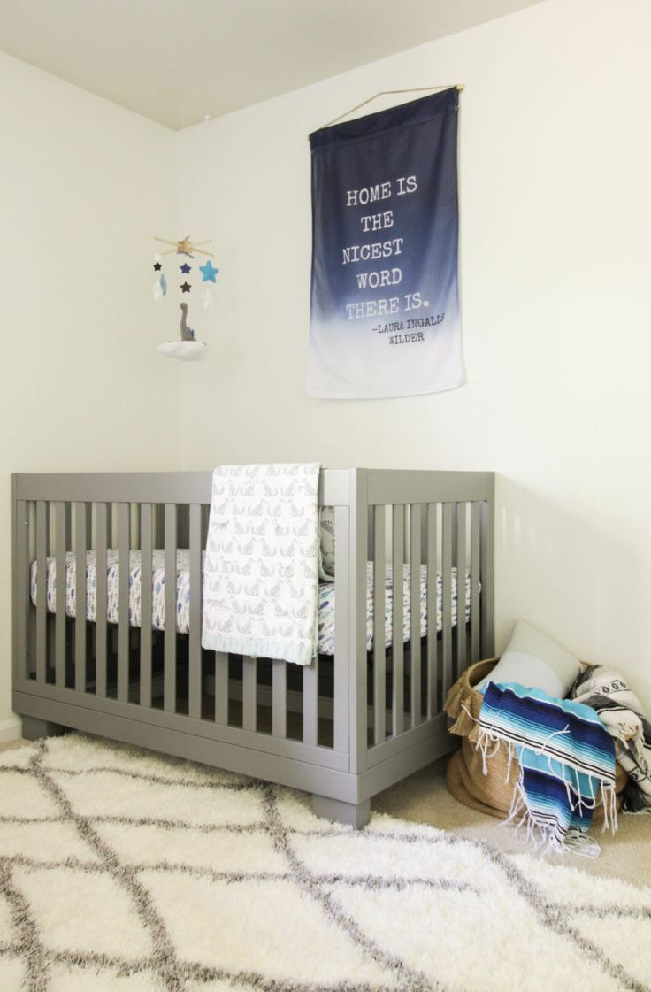 Nursery With Modern And Vintage Touches