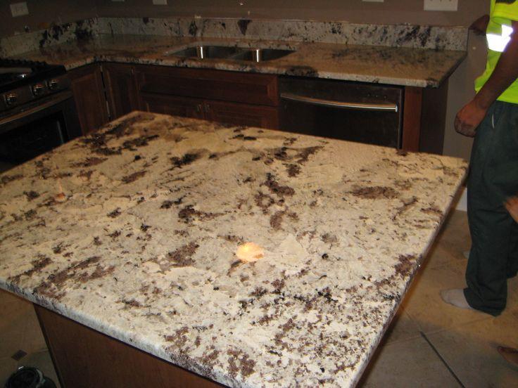Granite Alaskan White Copuntertops By Art Granite