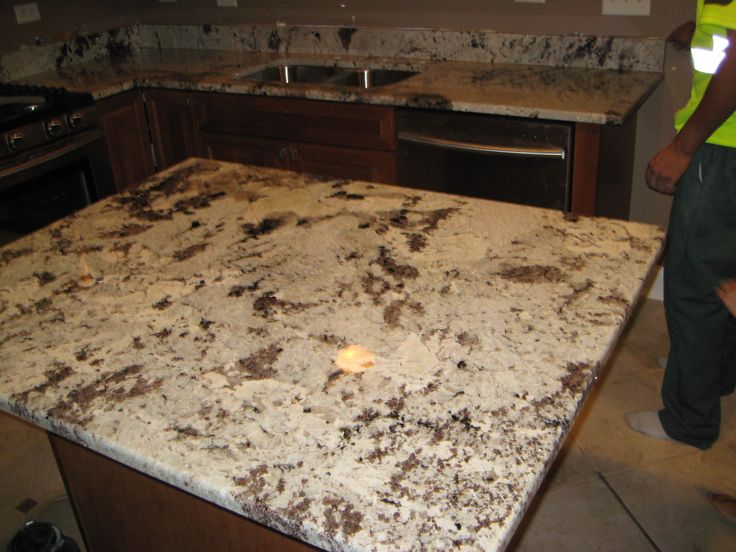 Brown And White Granite : Granite alaskan white copuntertops by art