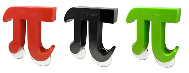 Pizza Pi Cutter - perfect for the math lover! ;-)