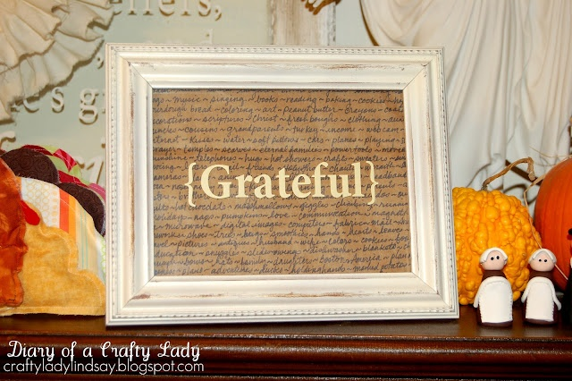 *Grateful* - all the things your family is grateful for listed in the background: Crafts Ideas, Crafty Carla Maybe, Crafty Things, Crafty Girls, Fall Thanksgiving, Crafty Crafty, Grateful Frames, Crafty Lady, Crafty Ideas