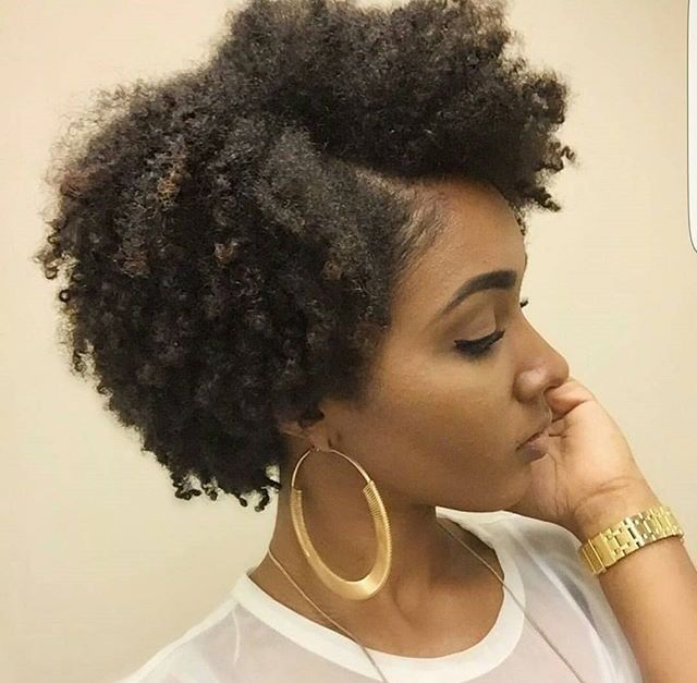 Natural Hair Style Naturalhair Pinterest Tresses