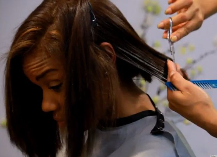 Keratin Treatment for Repair ~ For many African-American women, chemical hair relaxers can be both a blessing and a curse. The ease these straightening products provide help to save tons of time when getting ready each day. However