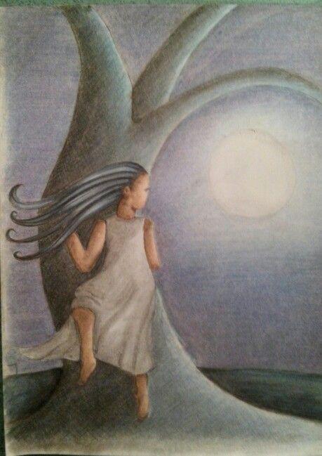 #Noche #ilustracion