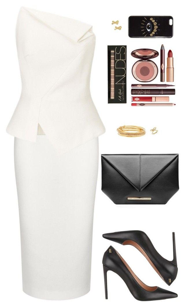 """""""Sin título #3949"""" by mdmsb on Polyvore featuring moda, Roland Mouret, Kate Spade, Charlotte Tilbury y Kenzo"""
