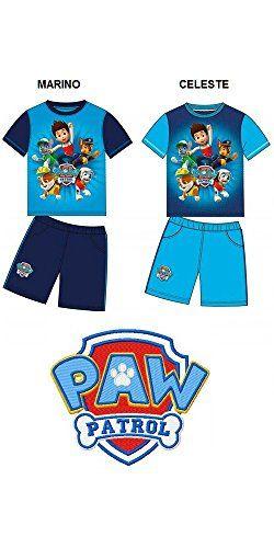 Conjunto Pijama Patrulla Canina Marino Celeste - Azul Marino, 8 #camiseta #realidadaumentada #ideas #regalo