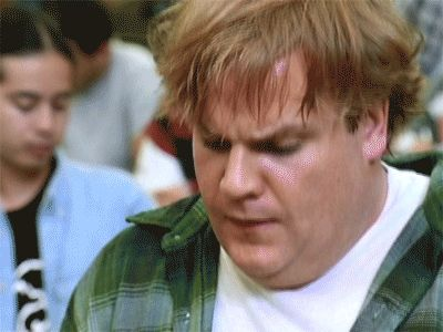 Reaction GIF: approval, pleased, Chris Farley