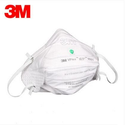 [Visit to Buy] 3M 9061 Mask Anti dust masks KN90 Anti PM2.5 Mask Industrial dust CN LA  Protective masks Efficient anti-static filter H012834 #Advertisement