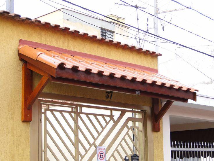 toldo de madeira e telha - Pesquisa Google