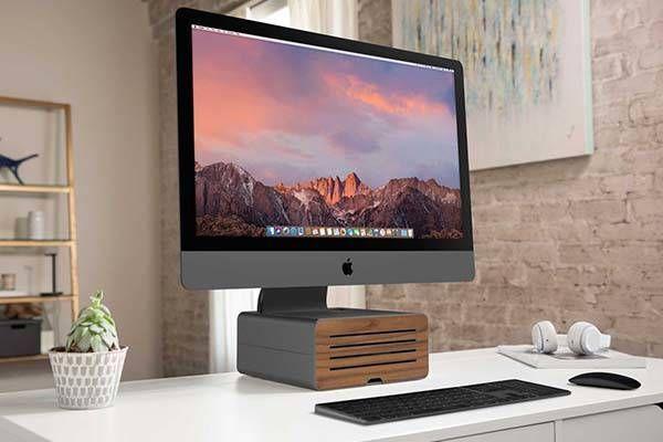 Twelve South Hirise Pro Imac Stand Imacpro Imac Imac Stand Imac Desk Setup