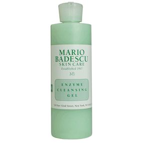 Mario Badescu enzyme cleansing gel. A little bit goes a long way.