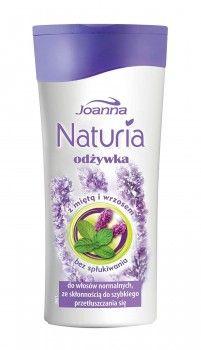 Odżywka bez spłukiwania z miętą i wrzosem do  kruchych, słabych, mało elastycznych i szybko przetłuszczających się włosów.