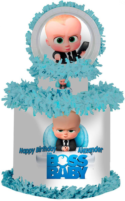 The Boss Baby Personalized Pinata - WorldOfPinatas.com
