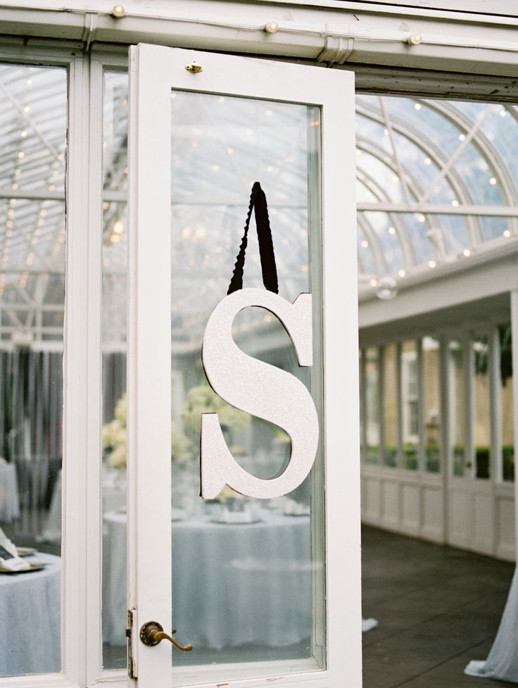 sample thank you letter for wedding shower gift%0A Hanging Letter Decor   Krystle Akin Photography   TheKnot com    Wedding  Shower GiftsWedding
