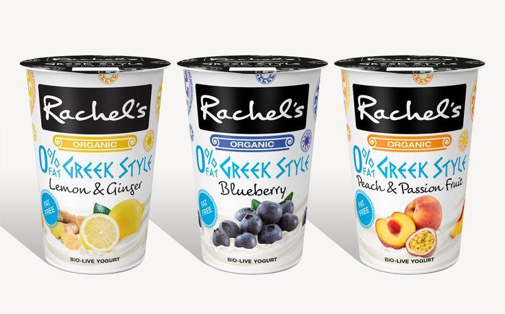Rachel's launches new range of fat-free Greek-style yogurts