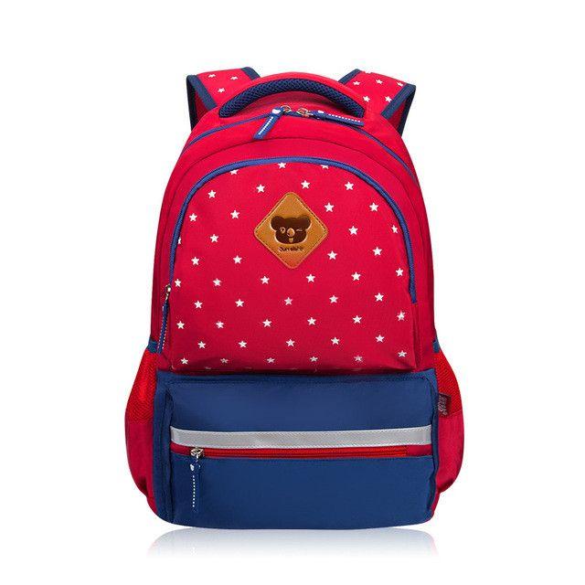 Waterproof Nylon Children School Bags for Boys & Girls School Backpack Kids Bag 4 Colors Available Mochila Escolar Schoolbags