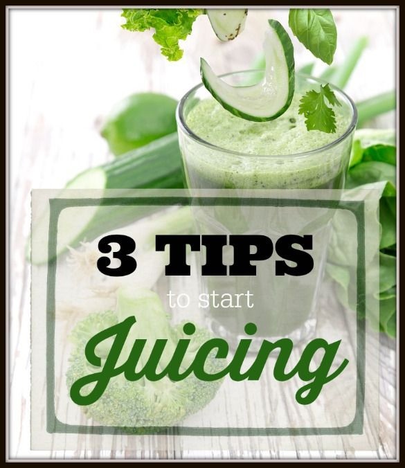 Thinking about juicing? We have 3 tips to get you started!
