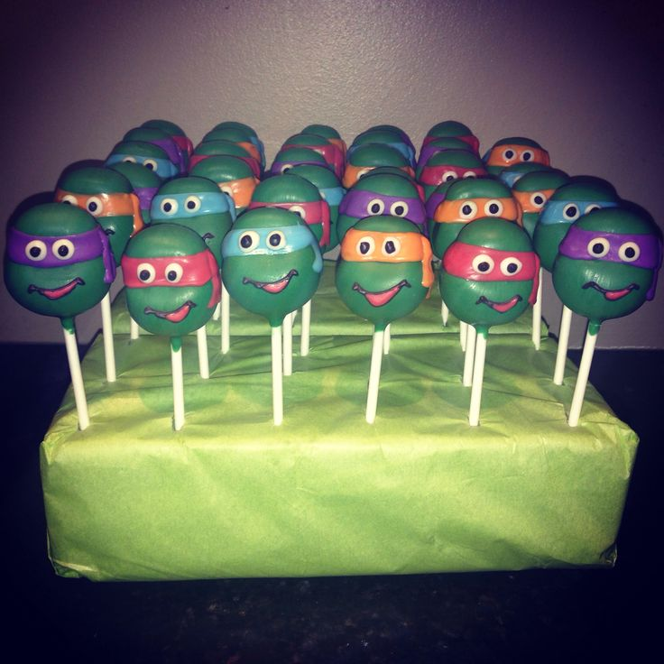 Teenage Mutant Ninja Turtle Pops!