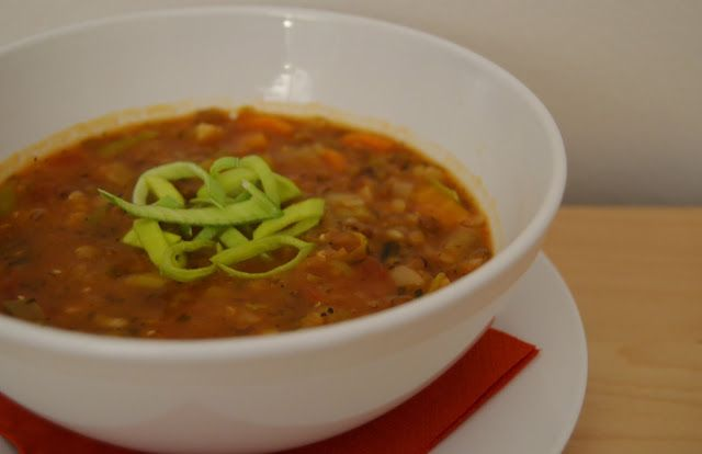 Mlsná máma : Islandská čočková polévka