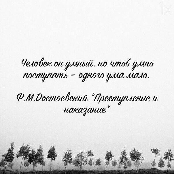 Достоевский. Цитата