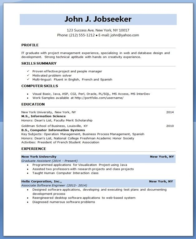 Resume Objective For Software Developer Forteforic