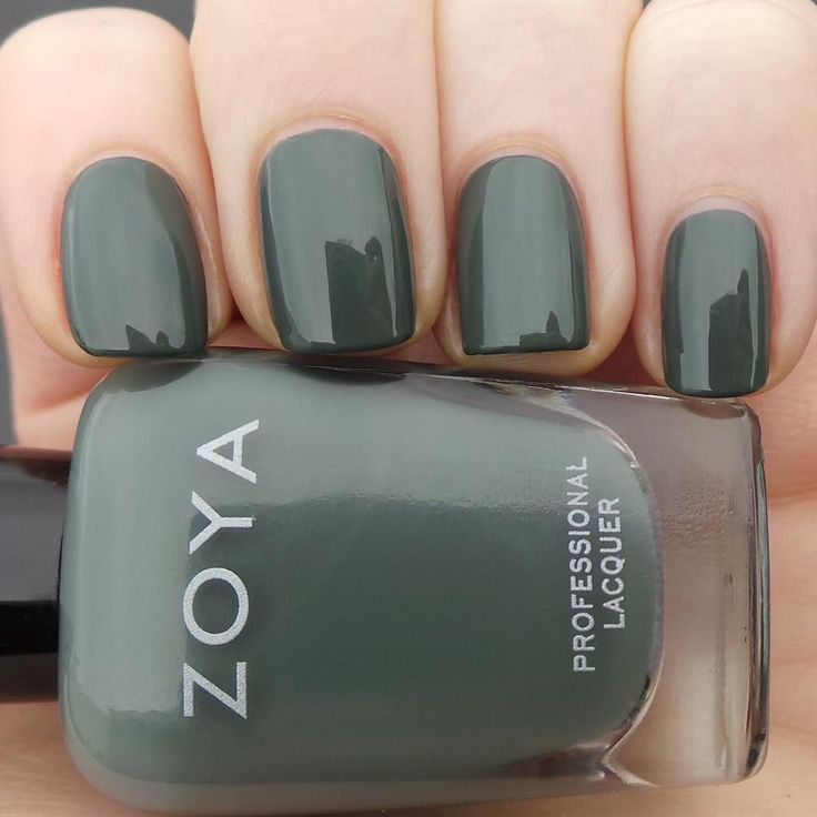 This is Zoya Nail Polish in Evvie, and we are just a tad obsessed with her.