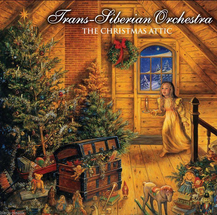 "TRANS-SIBERIAN ORCHESTRA ""The Christmas Attic"" 2LP 2014 AF (180 Gram Vinyl) #Christmas"