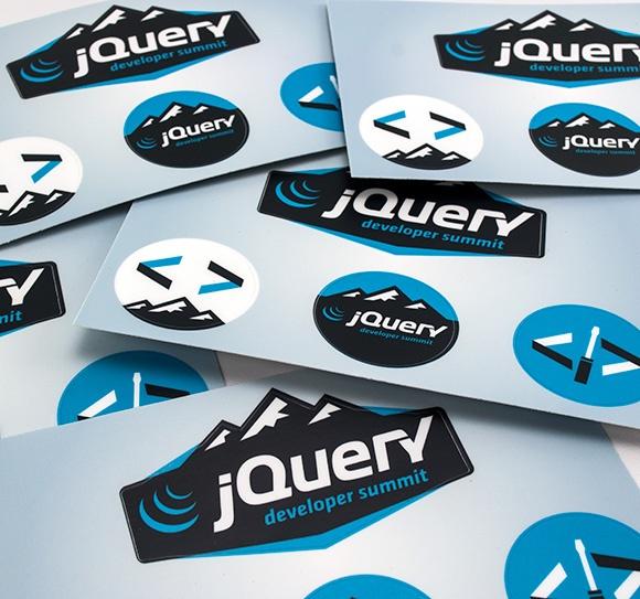 Jquery developer summit stickers · label tagstickersstickerdecals