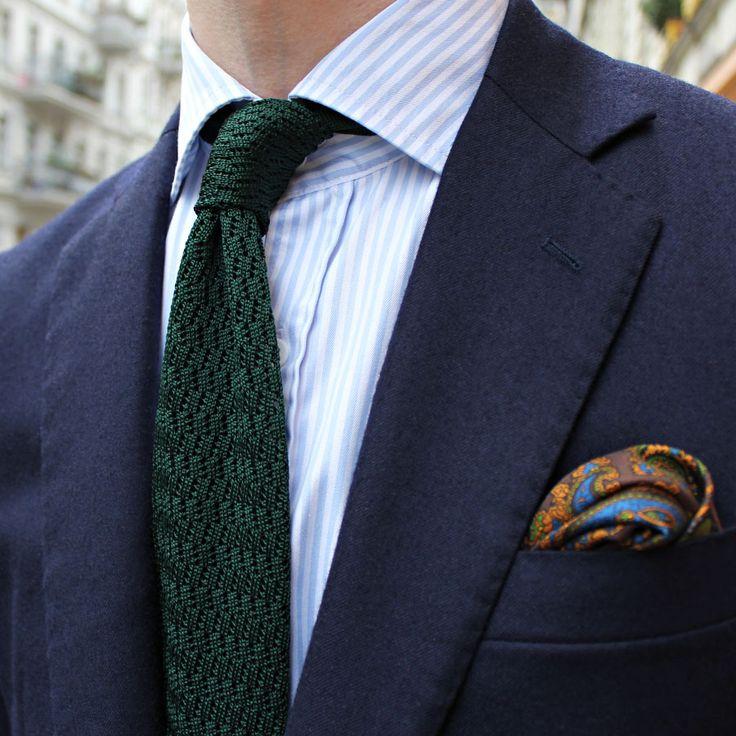 Black Knit Tie Styleforum