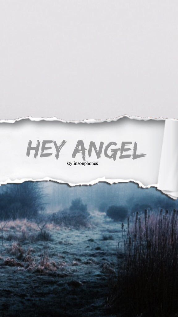 Iphone 4 Wallpaper Quotes Hey Angel Stylinsonphones One Direction Pinterest アート
