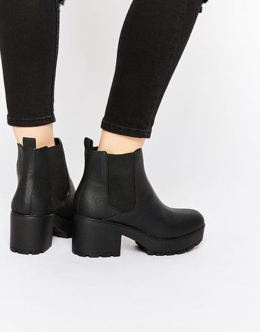 ASOS ROOK Chunky Chelsea Ankle Boots at asos.com